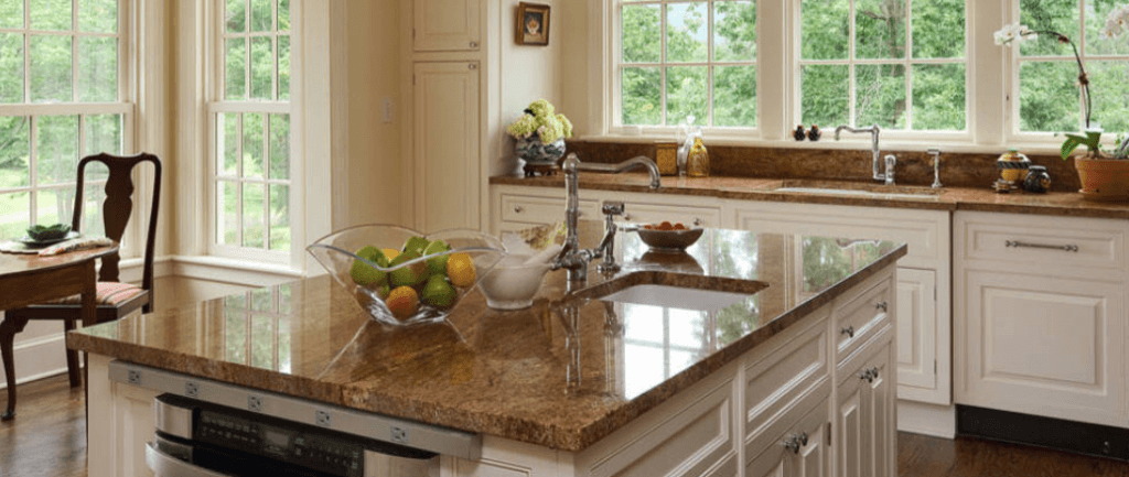brown granite worktops